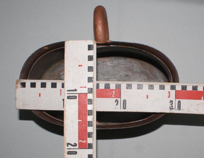 Details zu Antike LANDHAUS-KÜCHE NDEKO Pflanzbottich m.Henkel Kupfer ...