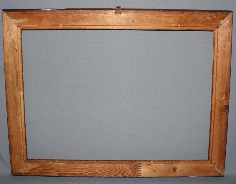 Holz bilderrahmen gold stuck rahmen 59x78cm jugendstil f r - Rahmen fur spiegel ...