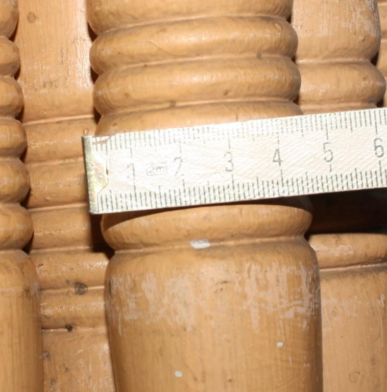 Treppengeländer Holz Gedrechselt ~ Details zu 9 Geländerspross en für Holz Treppenge länder Geländer